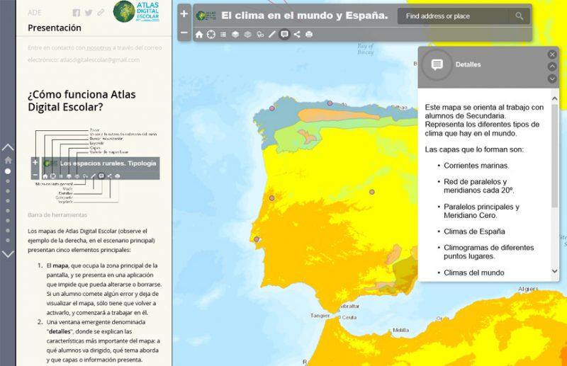 Iniciativas educativas: Atlas Digital Escolar