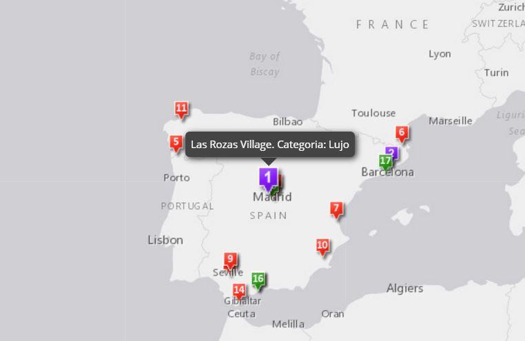 Story Map: Outlets en España