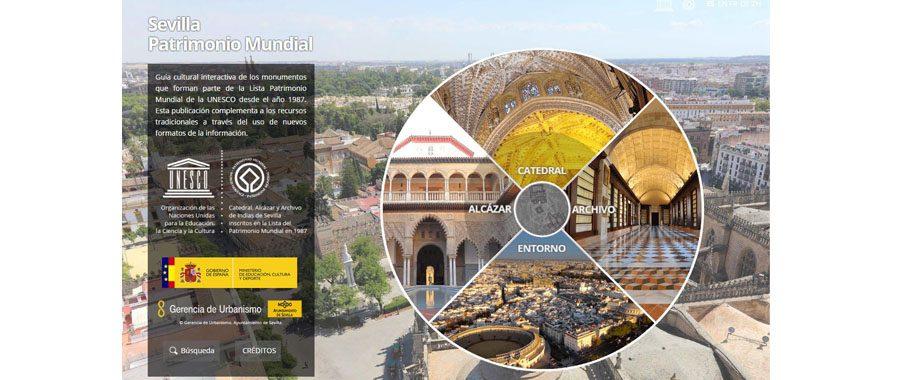 El Ayuntamiento de Sevilla presenta una aplicación para su patrimonio mundial de la UNESCO