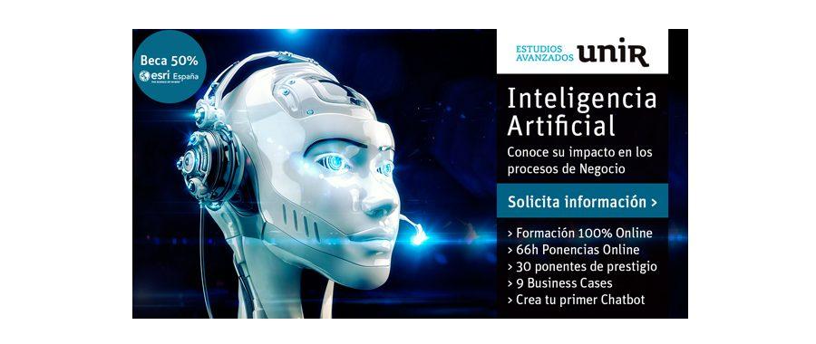 Esri colabora con UNIR con 5 becas para el Programa en Inteligencia Artificial