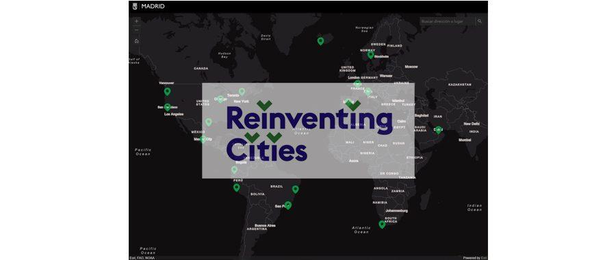 Reinventing Cities hará de Madrid una ciudad urbanísticamente sostenible