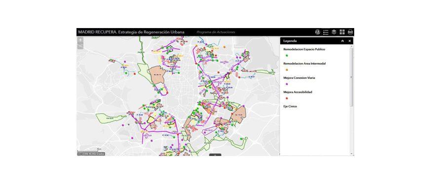 El Ayuntamiento de Madrid utiliza Story Maps para involucrar a los ciudadanos en en Plan MAD-RE