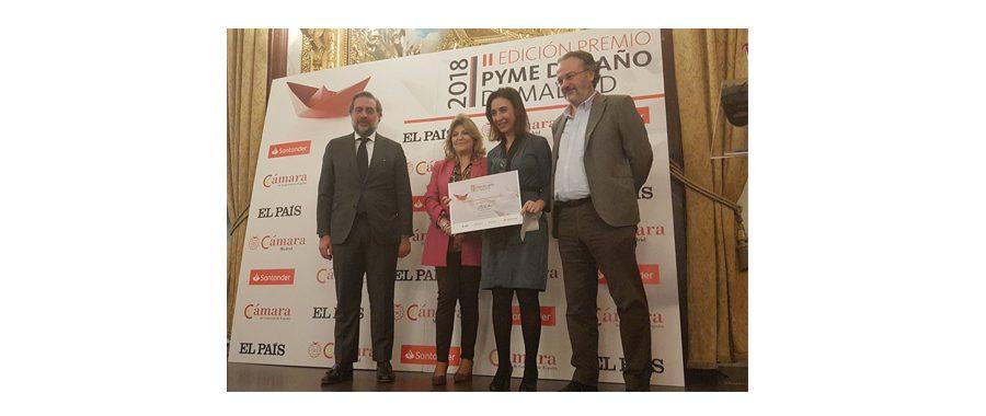 La Cámara de Comercio y Banco Santander premian a Esri España por su actividad en Formación y Empleo