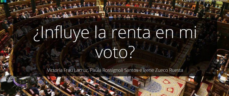 Tres alumnas del Marianistas de Zaragoza ganan un concurso de la UNIZAR con un análisis electoral basado en ArcGIS